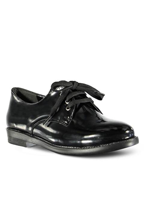Marjin Düz Ayakkabı Siyah